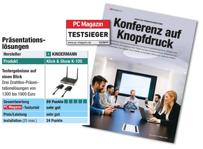 PC Magazin – Pressestimme